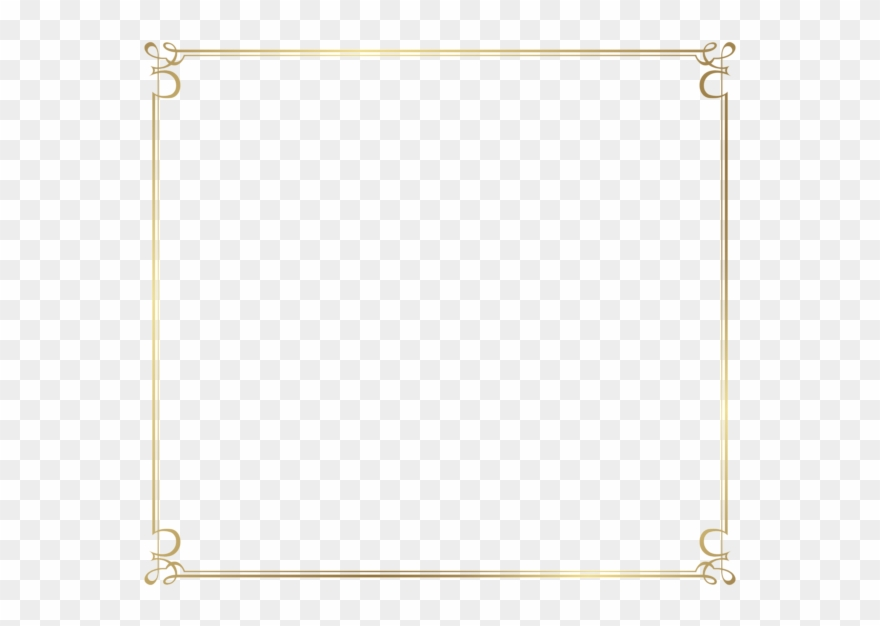 Decorative Border Transparent Background Png.