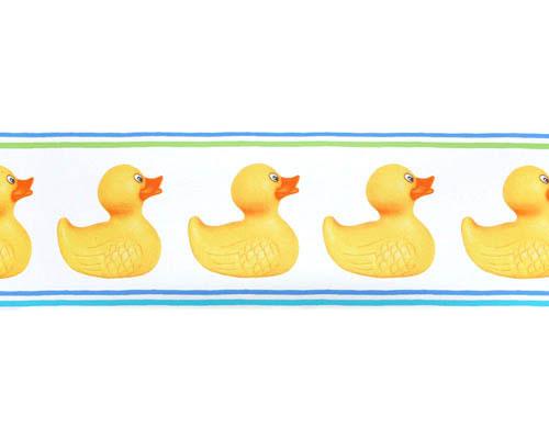 Rubber Duck Border Clipart.