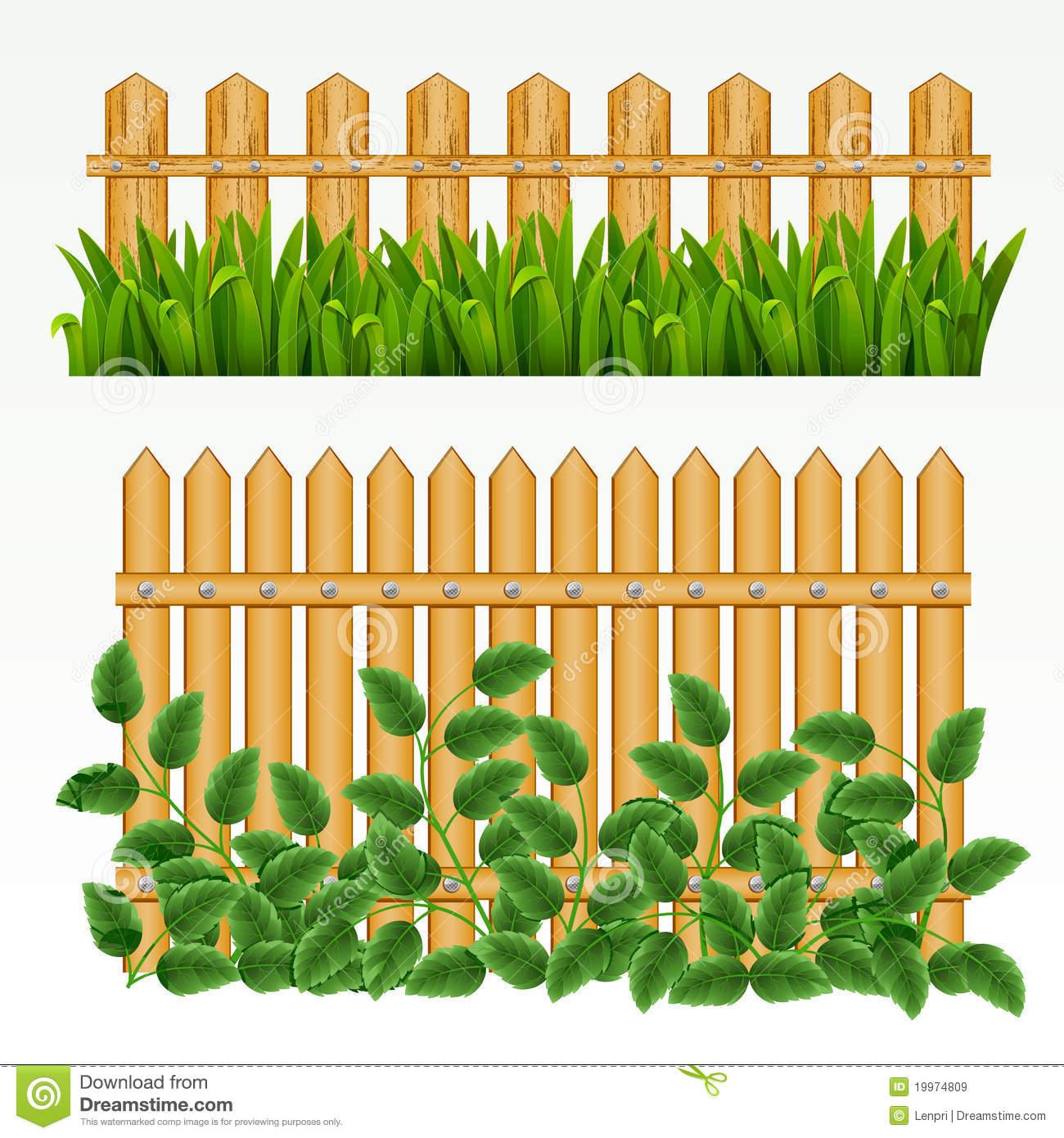 Fence border clip art.