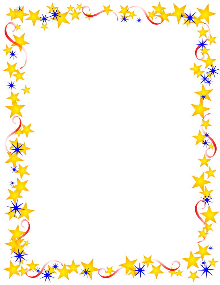 free color clipart photo frame borders #2