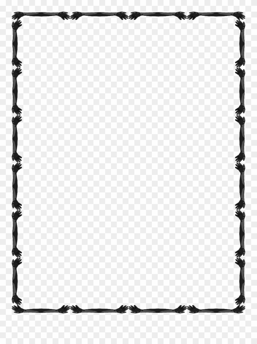 Simple Borderline Design Clipart (#130020).