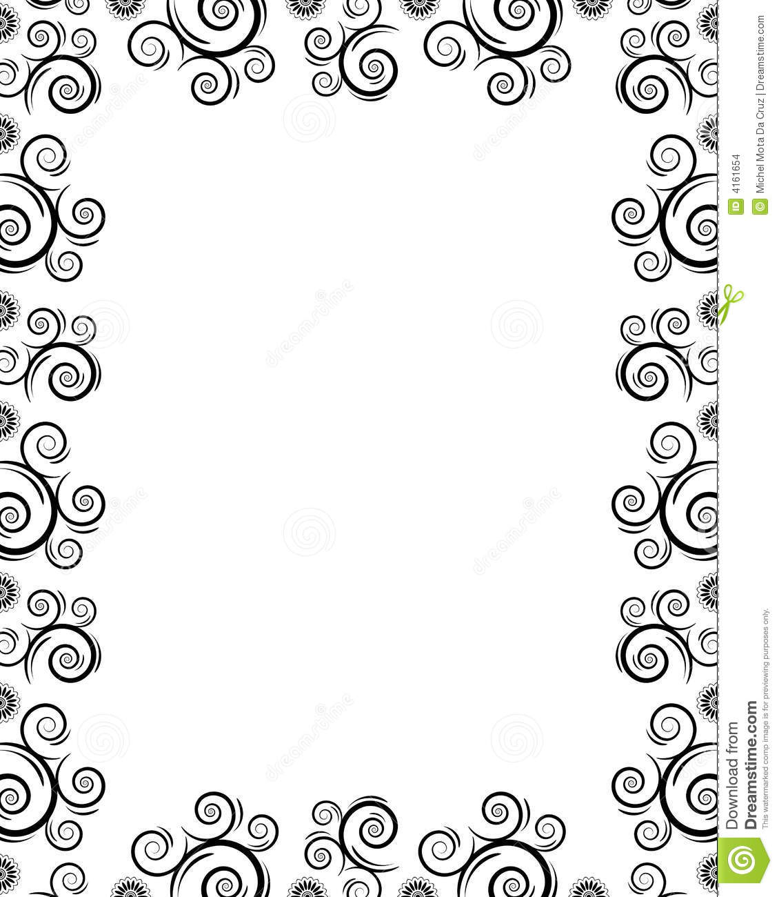 borderlines clipart