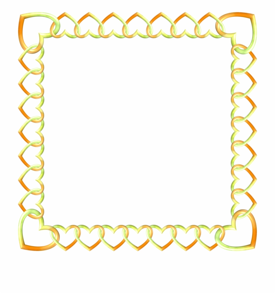 Gold Border Transparent Clipart Borders And Frames.