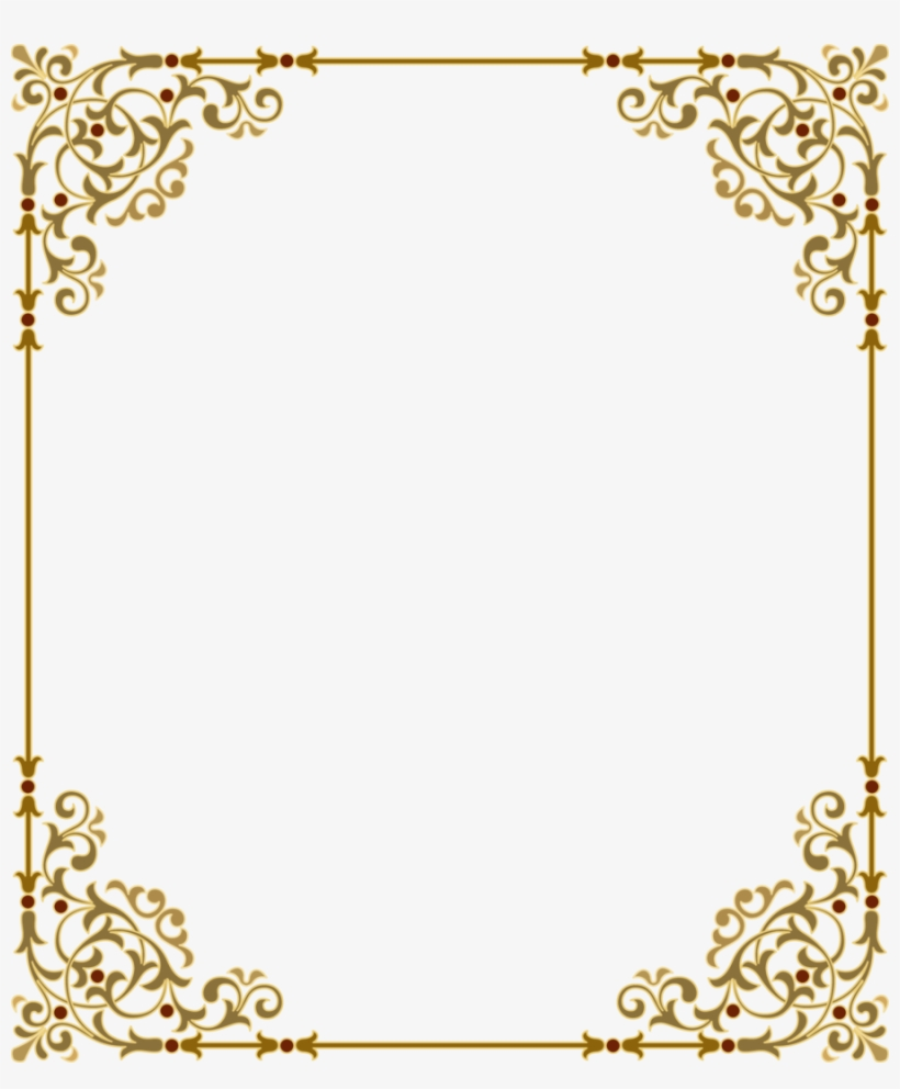 Download Gold Frame Png Clipart Clip Art Gold Text.