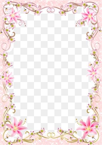 Pink Frame PNG Images.