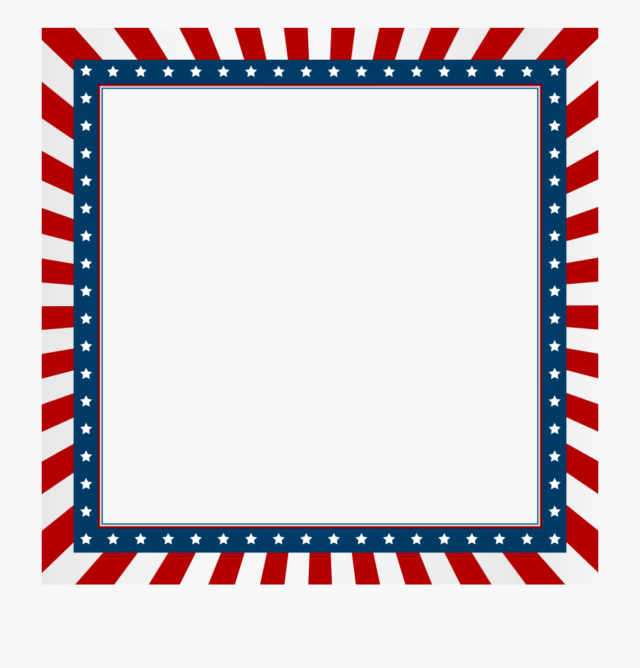 Fourth Of July Border Clip Art #118762.