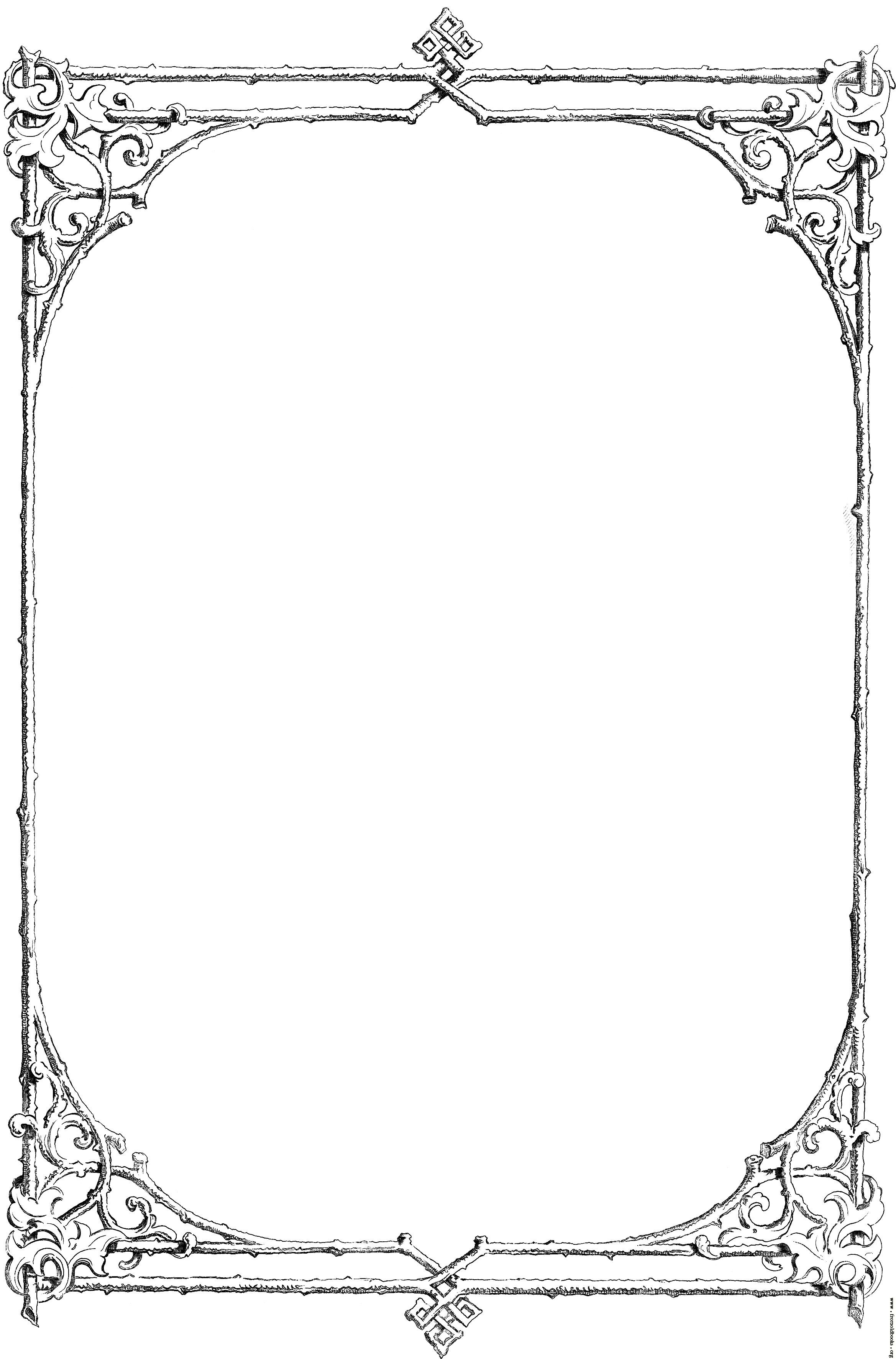 Borders Free Download Clipart.