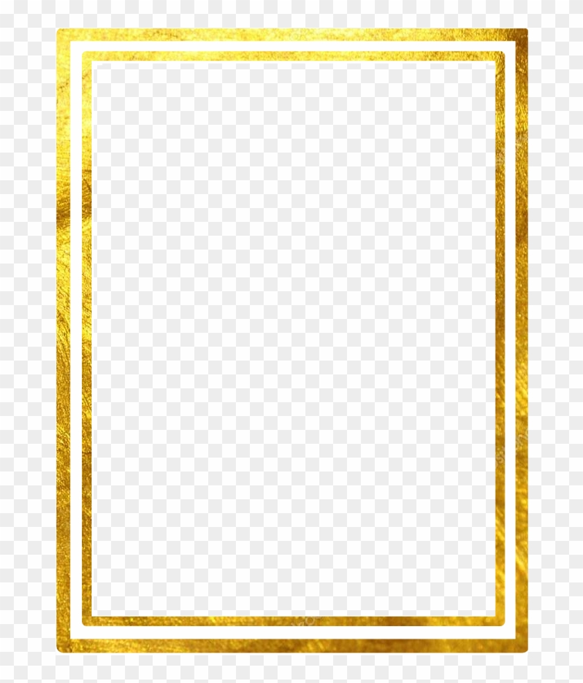 Double Line Square Gold Marco Frame.