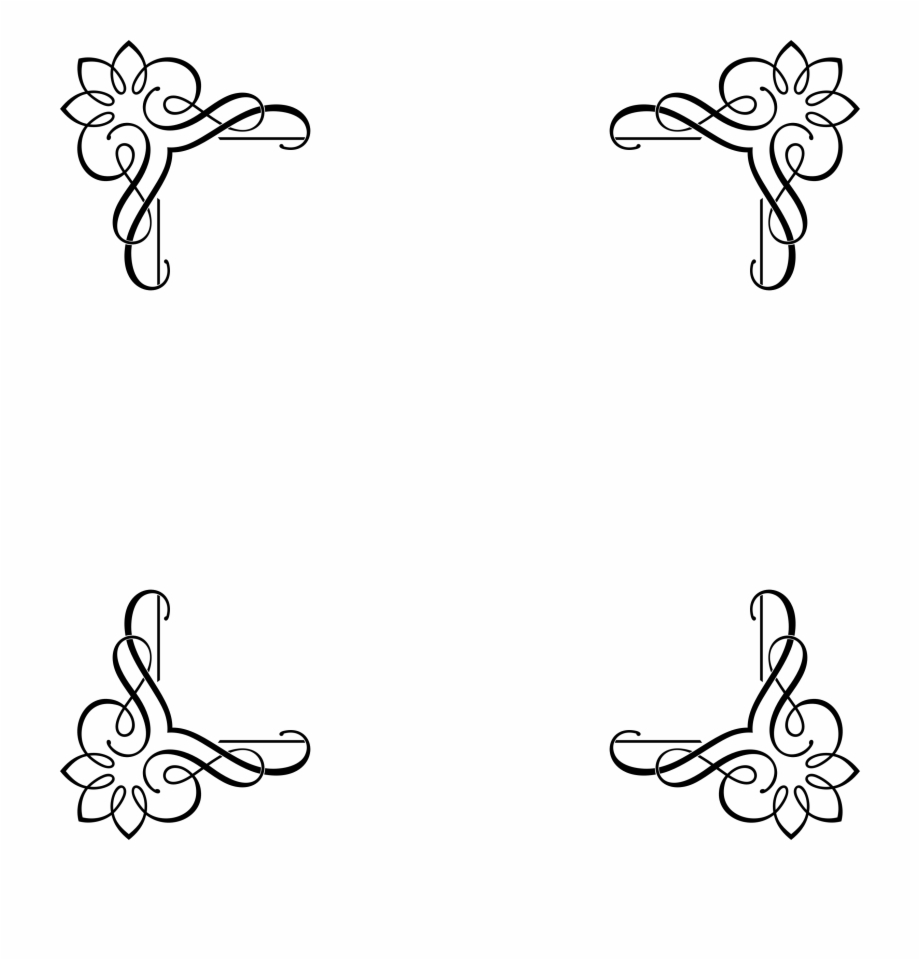 Vintage Frames And Borders Png Clipart , Png Download.