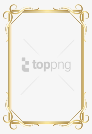 Gold Borders PNG, Transparent Gold Borders PNG Image Free Download.