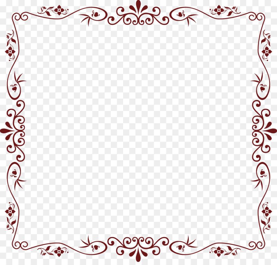 Flower Circle Bordertransparent png image & clipart free download.