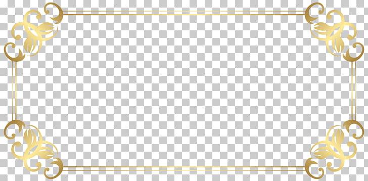 Ilustración de marco dorado, bordes y marcos, borde de.