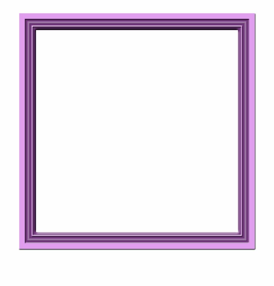 Purple Frame Png.
