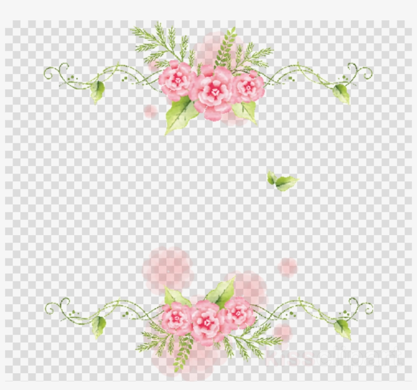 Bordes De Flores Png Clipart Floral Design Flower.