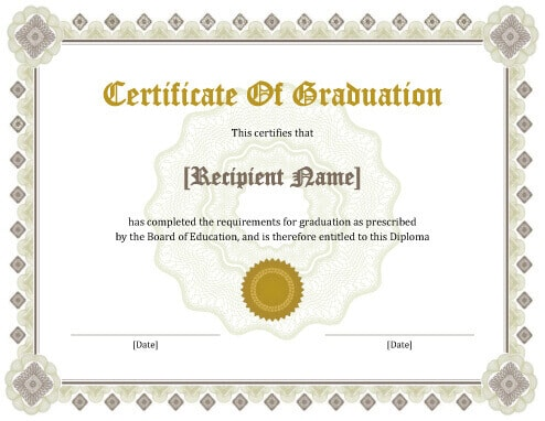 11 plantillas de certificado de diploma gratis e imprimibles.