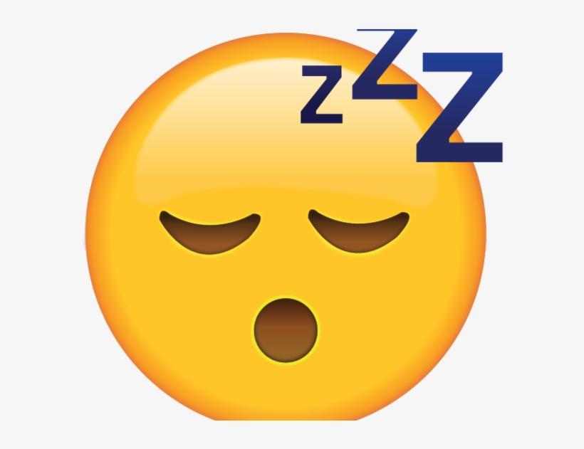 Sleeping Emoji Transparent.