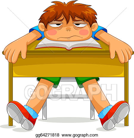 Student Bored Clipart & Free Clip Art Images #23695.
