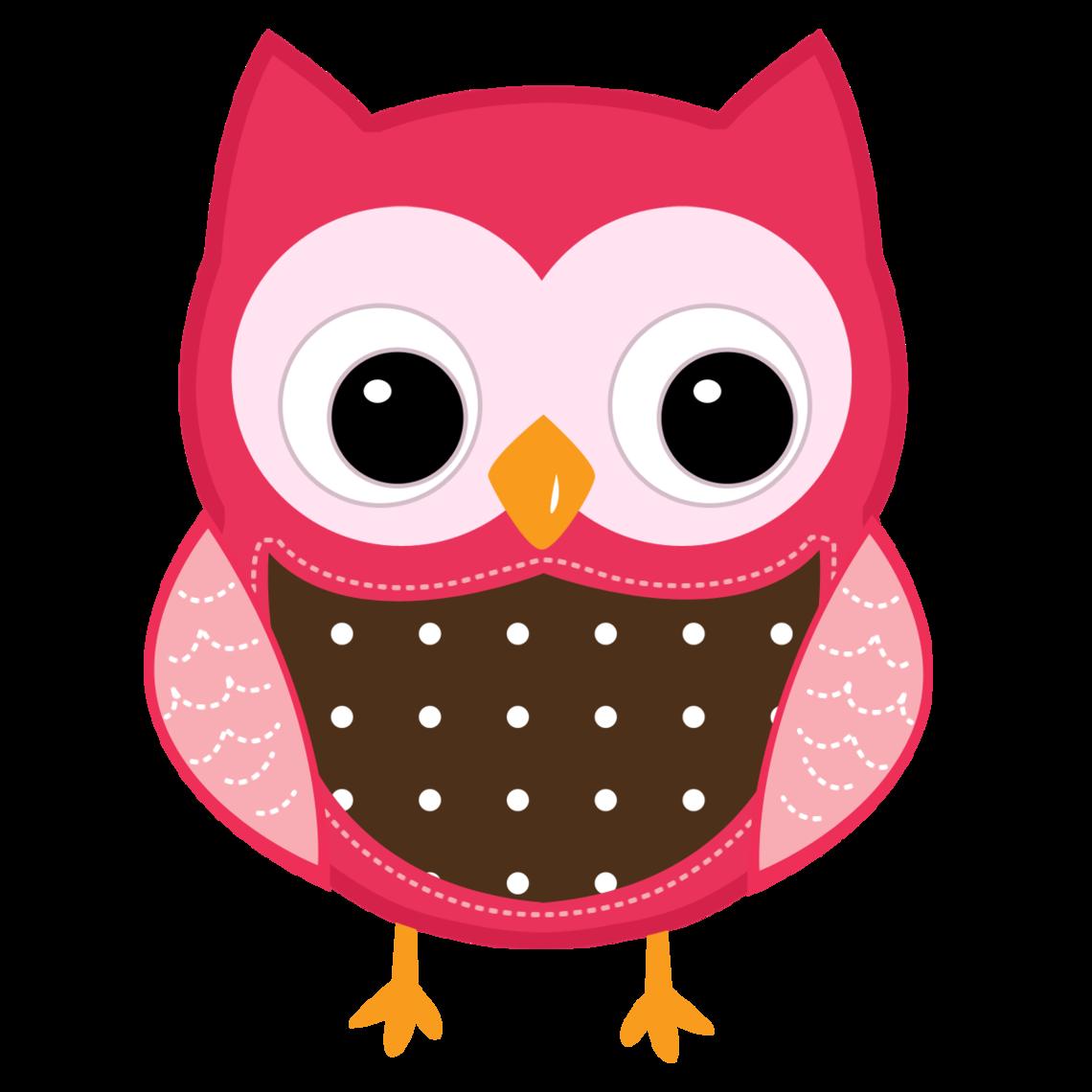 Valentines owl borer clipart.