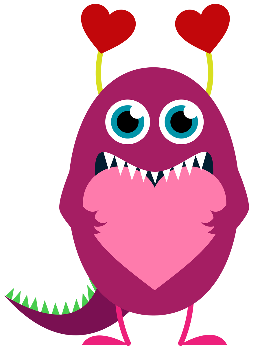 Valentines owl borer clipart.