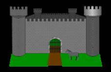 Castle Vector.