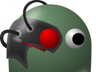 Comic Characters Borg clip art.
