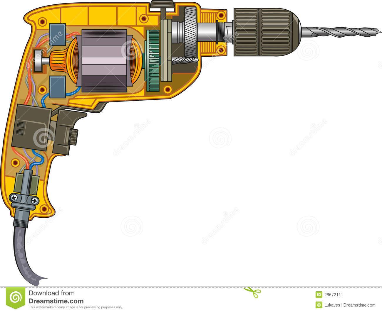 Drilling Machine Stock Image.