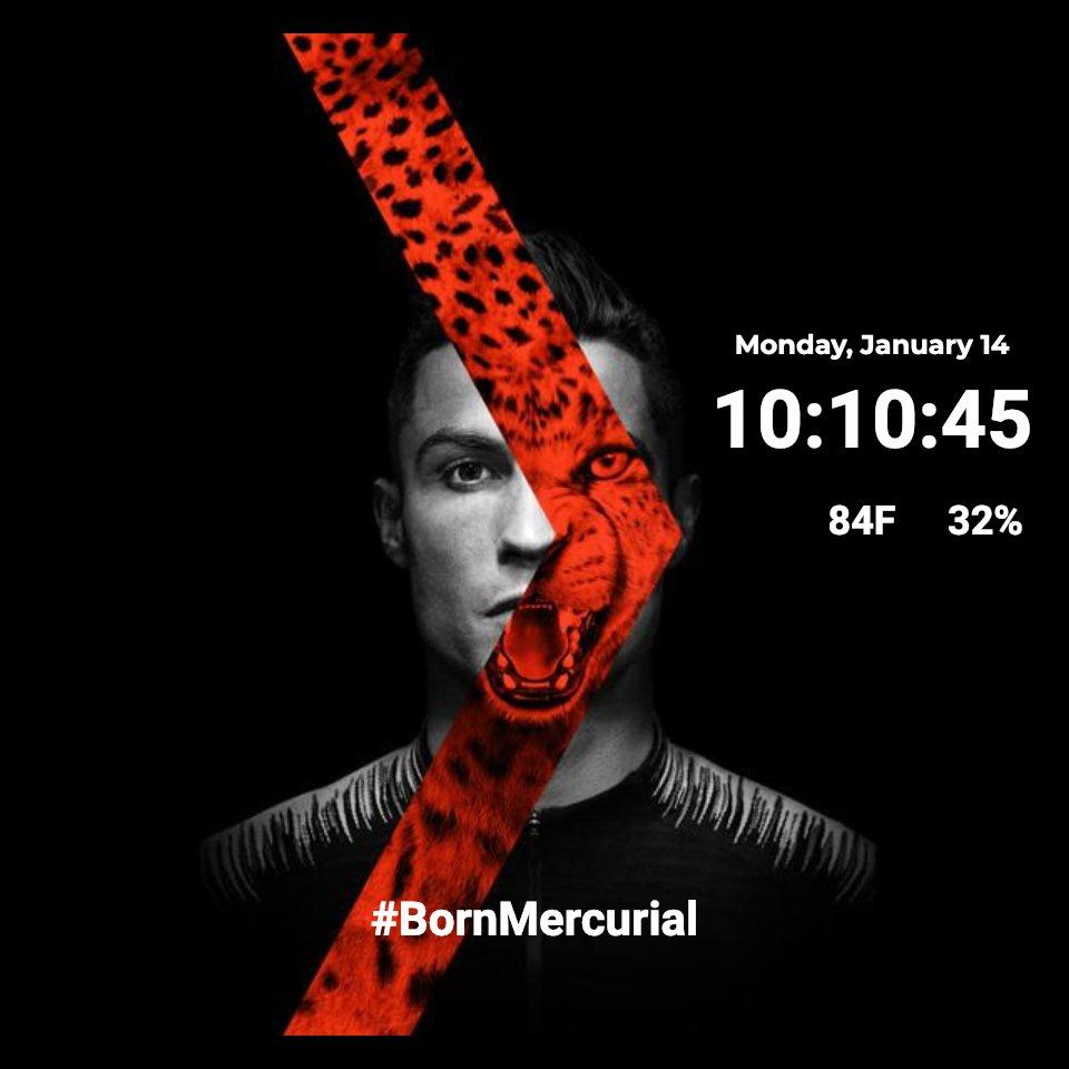 BornMercurial Ronaldo for Moto 360.