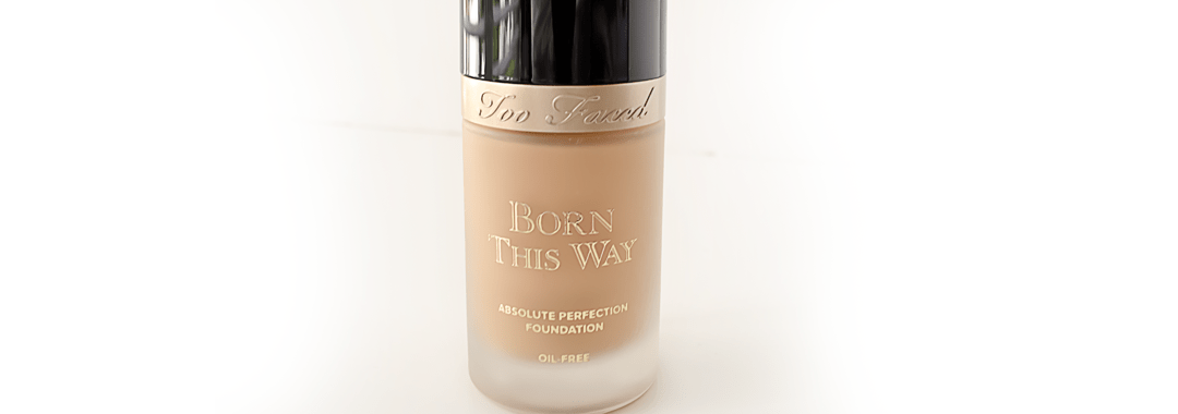 Too Faced Born this Way Foundation Review and Swatch.