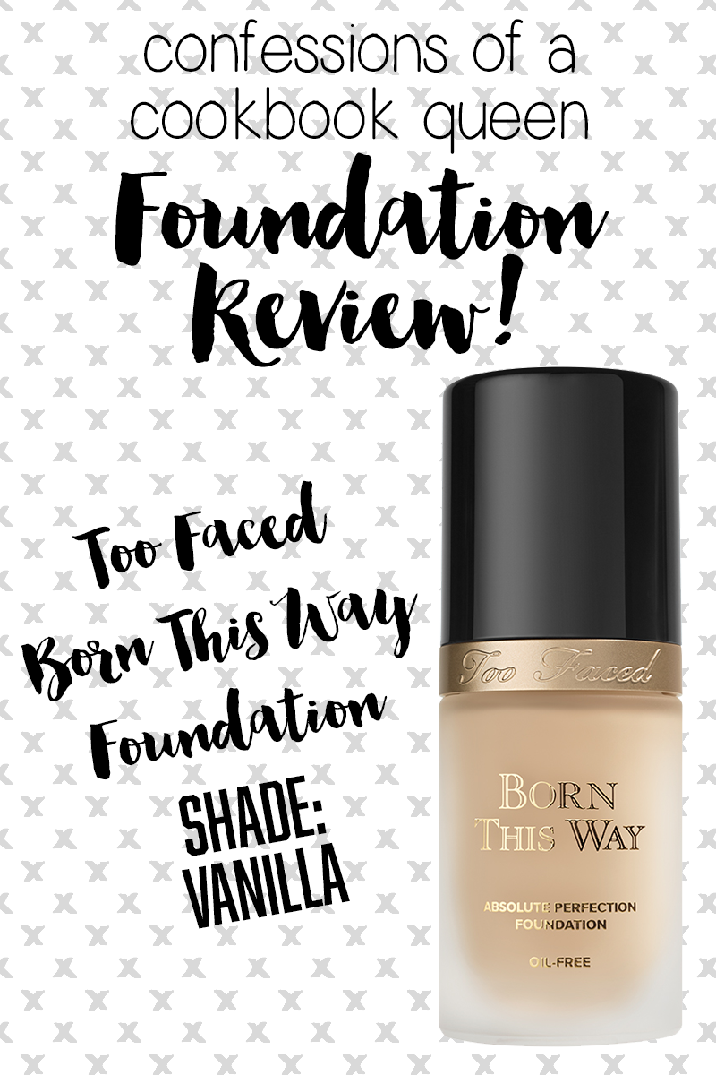 Too Faced Born This Way Foundation Review.