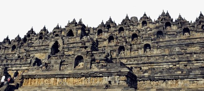 Indonesia Borobudur Attractions.