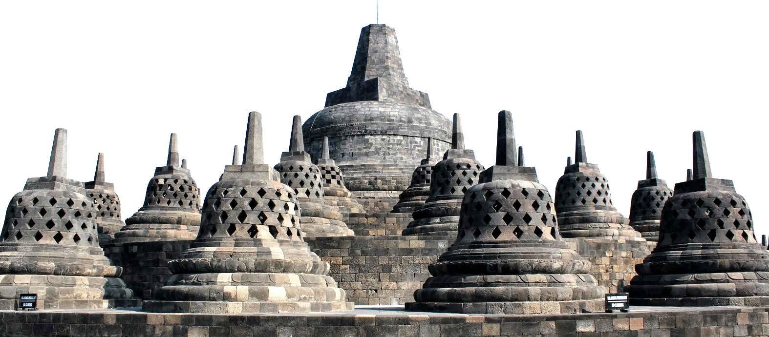 Candi Borobudur.