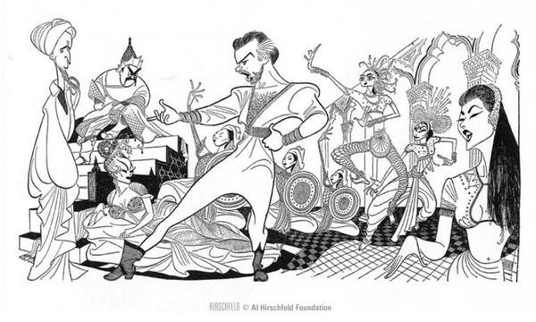 "Al Hirschfeld on Twitter: ""Incorporating Borodin works into the."