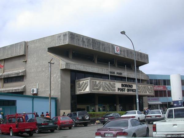 Haus Post'. Boroko Post Office..