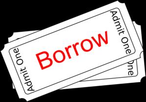 Borrow Clipart.
