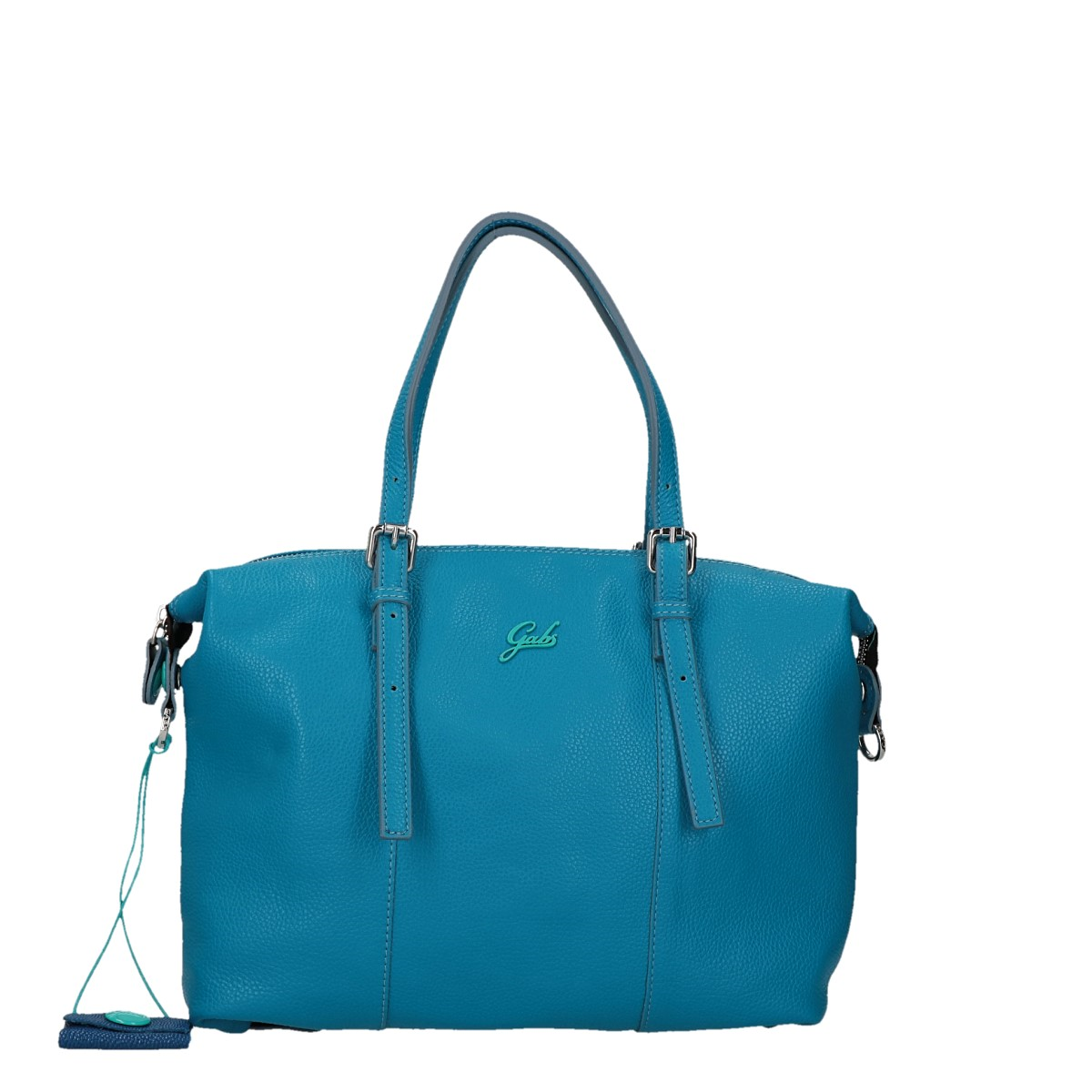 Gabs Goldie Ruga transformable bag in leather basic size M Bluette.