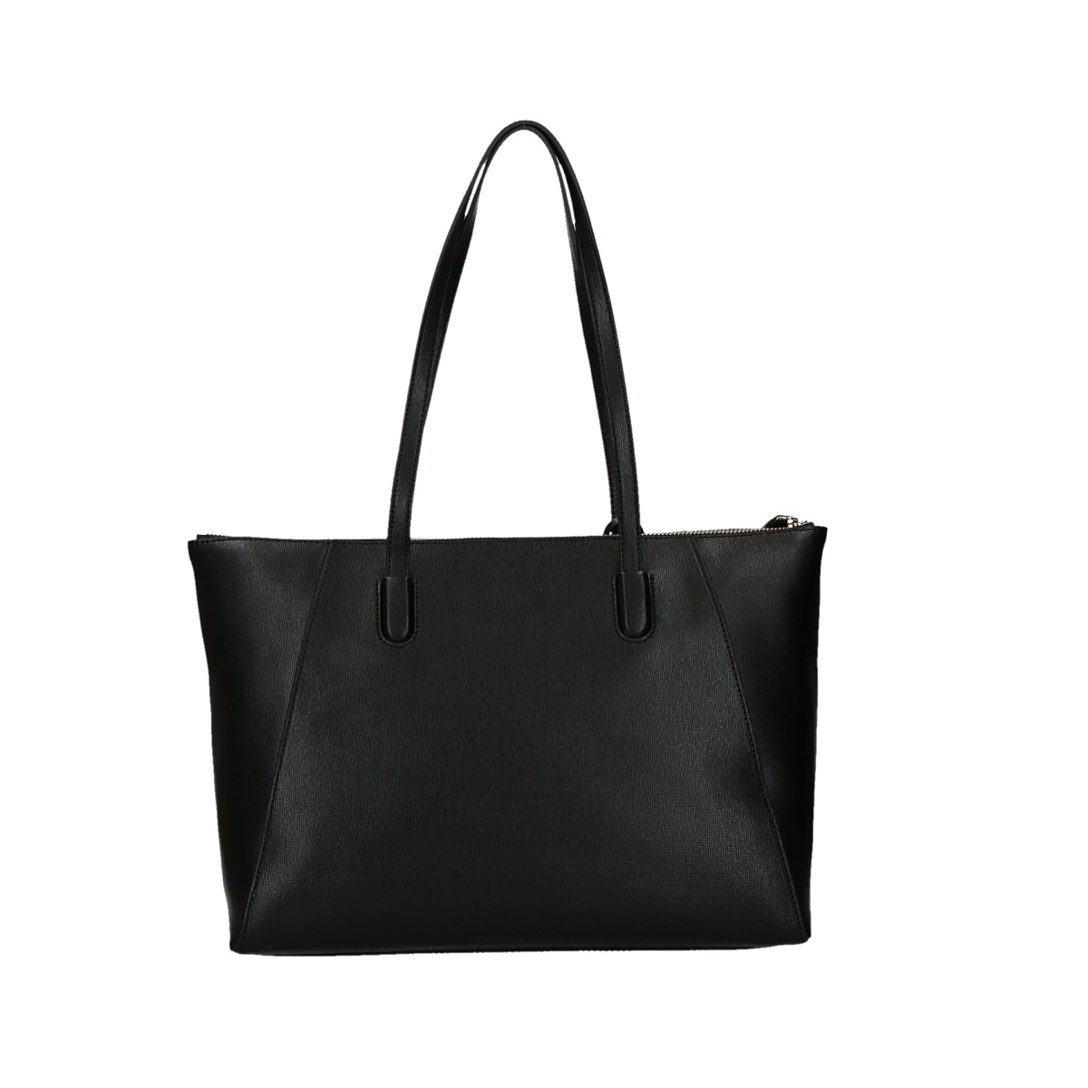 Coccinelle leather shoulder bag Clementine Soft black.