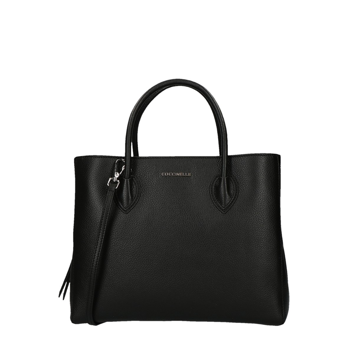 Coccinelle handbag with shoulder strap Farisa Nero.