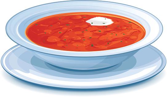Borscht Soup Clipart Clipground