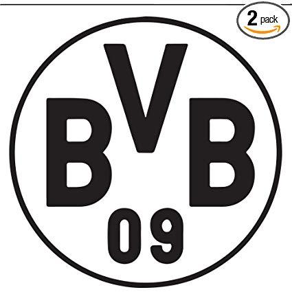 Amazon.com: NBFU DECALS Bundesliga FC Borussia Dortmund Logo.
