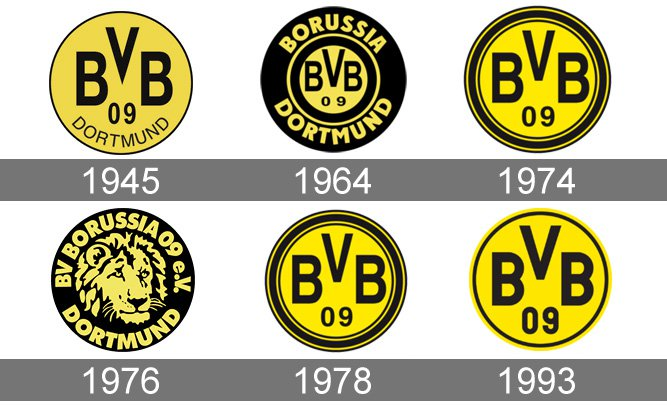 Meaning Borussia Dortmund logo and symbol.
