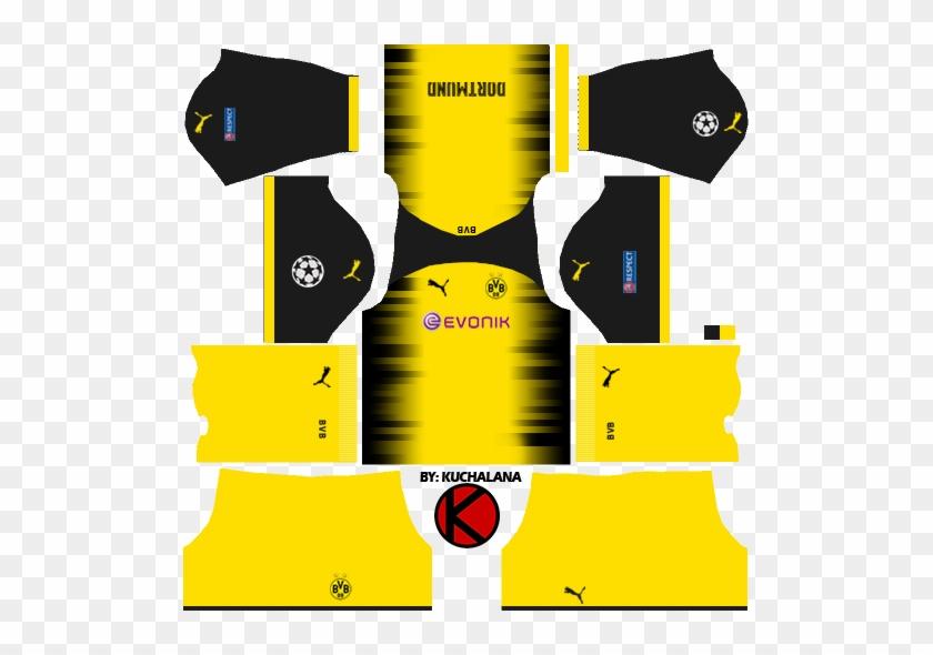 Borussia Dortmund Kits 2017/2018.