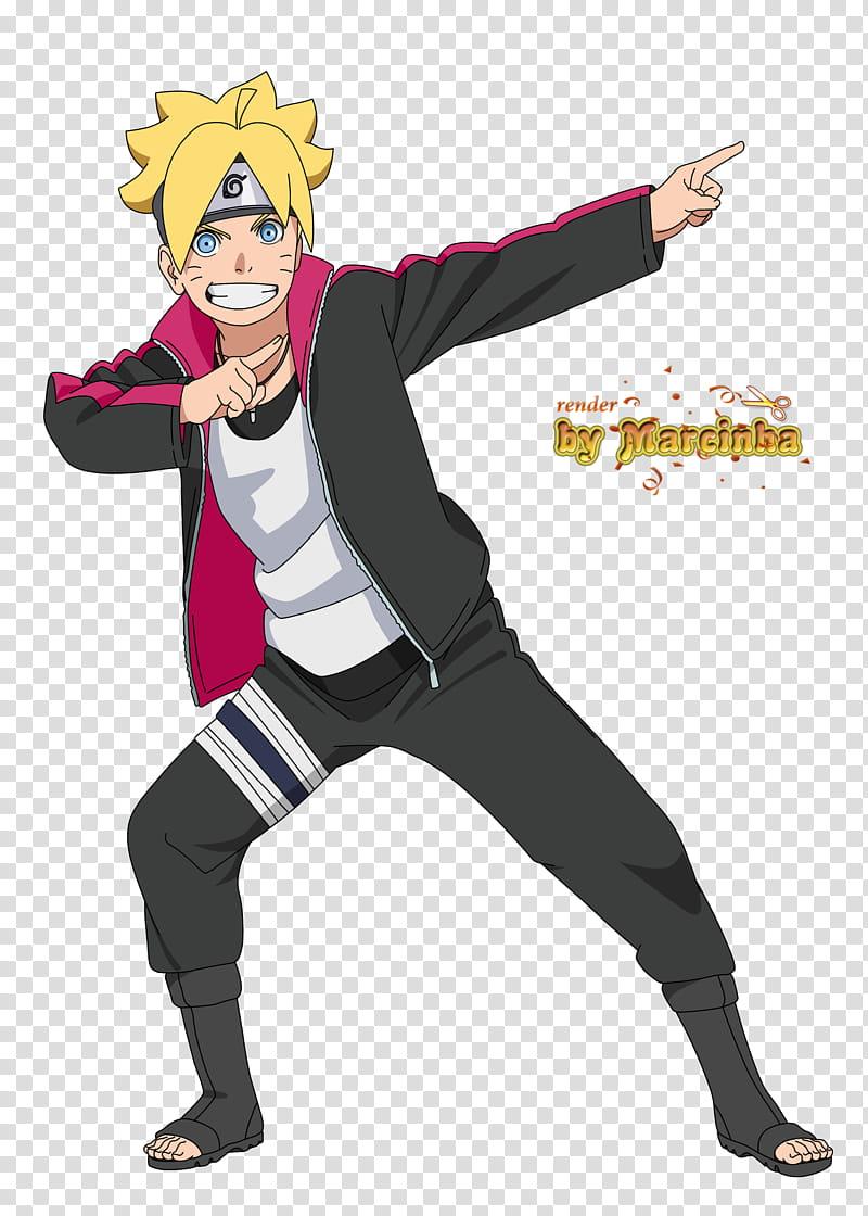 Bolt Boruto Uzumaki, Uzumaki Boruto dabbing illustration.
