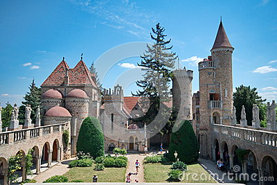 Bory Castle In Hungary Editorial Image.
