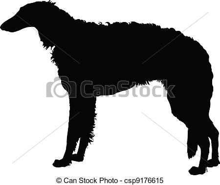 Borzoi Clip Art Vector Graphics. 30 Borzoi EPS clipart vector and.
