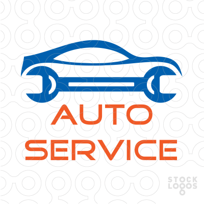 Vehicle service logo.
