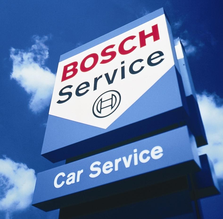 Bosch Car Service Logos