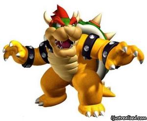 Super Mario Bowser.