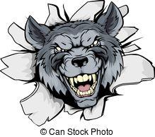 Böser wolf clipart 12 » Clipart Station.