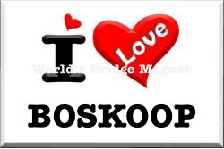 I love BOSKOOP.
