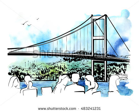 Bosphorus Bridge Stock Vectors, Images & Vector Art.